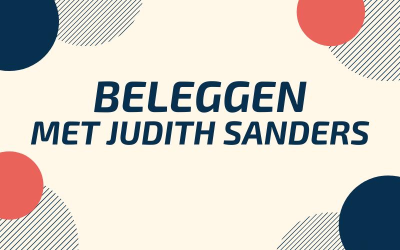 Goed met Geld 105: Beleggen met Judith Sanders van ABN AMRO
